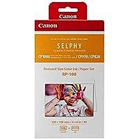 "Canon RP-108 Carta, Formato Cartolina 100 x 148 mm, 4x6"", Bianco"