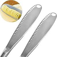 Caractéristiques:Type: couteau à beurreMatériau: acier StianlessCouleur: argentTaille: 20,6 * 2,7 * 0,5 cm / 8,1 * 1,1 * 0,2 poucesPoids net: 76g / 2.7inch