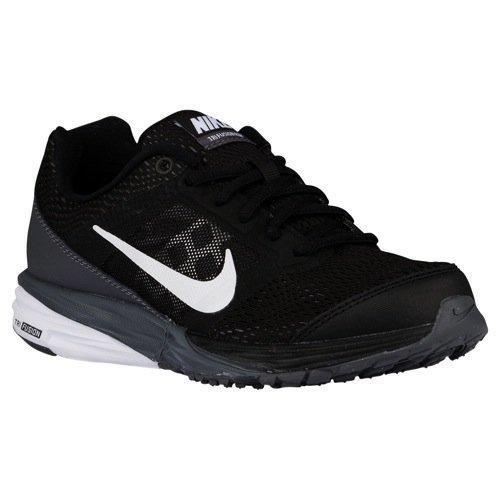 Tri Fusion Run Sport Entraîneur Chaussures pour enfants Black/Dark Grey/Metallic Silver/White