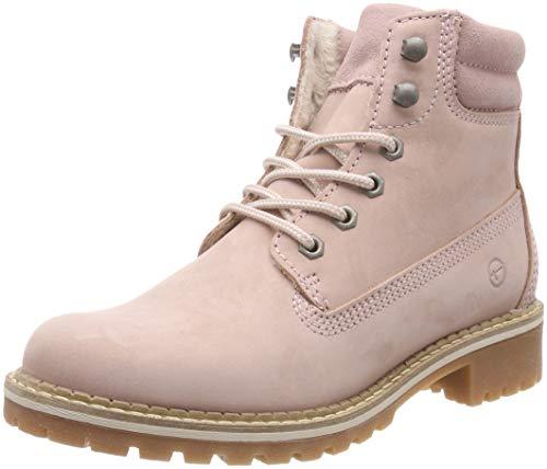 Tamaris Damen 25242-21 Combat Boots, Pink (Lt.Pink 644), 43 EU