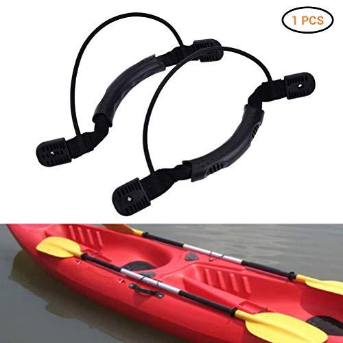 Hihey Manija de Kayak Manijas de Kayak Manija de Transporte Resistente 1 Pieza Bota de Goma Duradera Equipaje Soporte Lateral para Asas Adecuado para Kayaks Maleta Equipaje Tabla de Surf