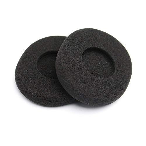 1PC Ear Pad morbida gomma piuma con isolamento acustico di sostituzione Auricolare Covers cuffie cuscini per Logitech H800 (nero)