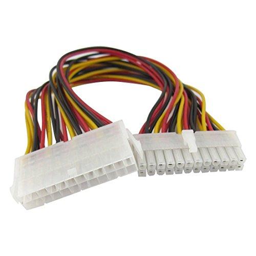 29,5cm Computer Netzteil ATX 24Pin Männlich auf weiblich Verlängerung Kabel - Power-line-netzwerk-extender