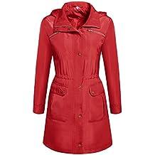 Trudge - Abrigo Impermeable - para Mujer 72c540b57bae
