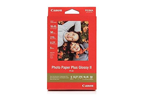 2311B003 - Format: 10 x 15 cm, DIN A3/ Grammatur: 260 g/m²/ Verpackungsgröße: 50 Blatt/ kratzfester PP-201 PHOTO PAPER PLUS II