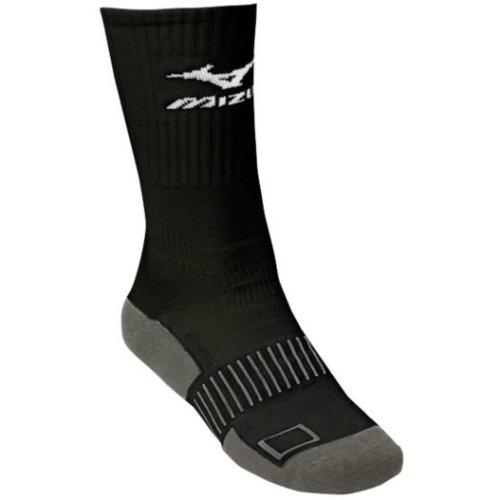 Mizuno Performance Plus Crew Socke, damen, schwarz (Mizuno Socke Performance)