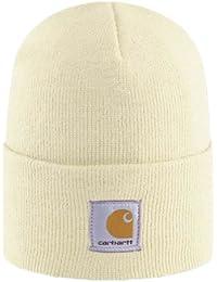 Carhartt Womens Acrylic Watch Cap - Winter White CHWA018WWH Womens Ski Hat CHWA018WWH