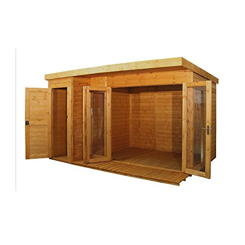 12x8 Wooden Summerhouse ♦ Rosem...