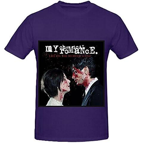 My Chemical Romance Life On The Murder Scene 80s Men O Neck Custom Tee Shirts XXXX-L