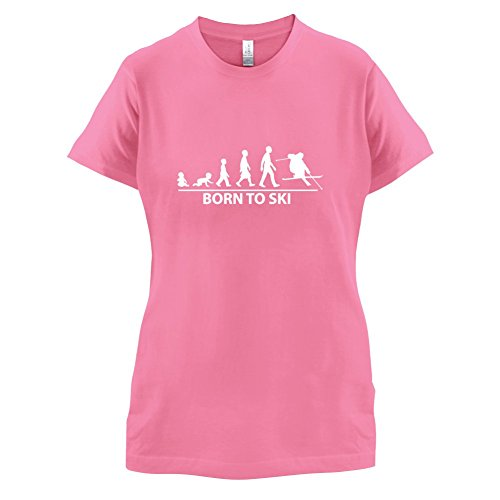 Born To Ski - Damen T-Shirt - 14 Farben Azalee