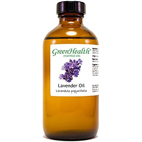 Lavender 100% Pure Essential Oil - 8 Oz by Greenhealth