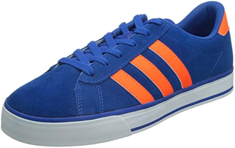 Adidas - Diario - Color Azul-Naranja - Tamaã±o: 8.5