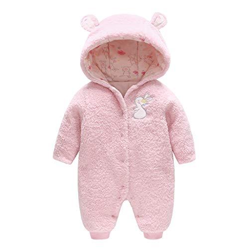 Bambino Pagliaccetto con cappuccio Tutina Neonato invernale Tuta da neve Tutine Addensare Jumpsuit Outfits 0-3 Mesi