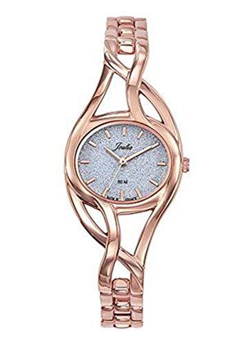 Joalia - Montre Femme - H630M581 - Bracelet doré - Cadran Gris pailleté