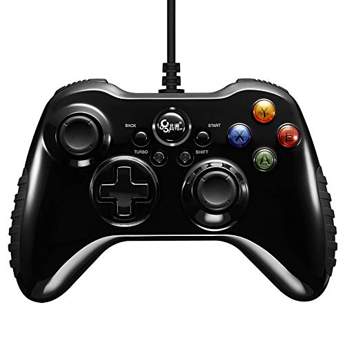 INSN Wired Gaming Joysticks Mit Gyro-Achse Dual