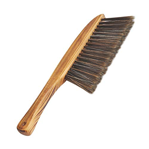 Zhou yunshan spazzola per spolverare naturale multifunzionale piccola spazzola per pulizia cenere articoli per la casa, 2 pezzi.