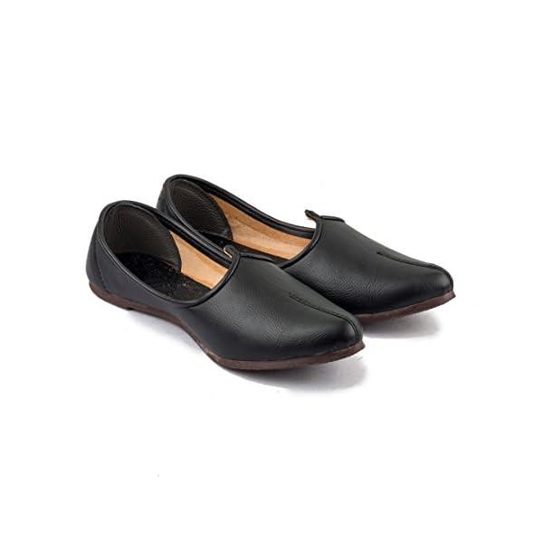 Tashi-Mens-Black-Leather-Jalsa-Jutis
