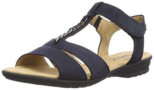 Gabor Shoes 22.722.46 Damen Offen Sandalen Blau (Nightblue)
