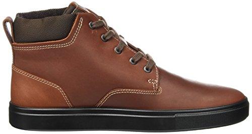 ECCO Kyle, Sneaker a Collo Alto Uomo Marrone (Cognac)