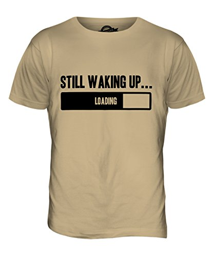 CandyMix Still Waking Up Herren T Shirt Sand