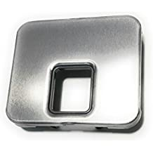 Simon - 75062-33 tapa toma telefono s-75 aluminio Ref. 6557533245