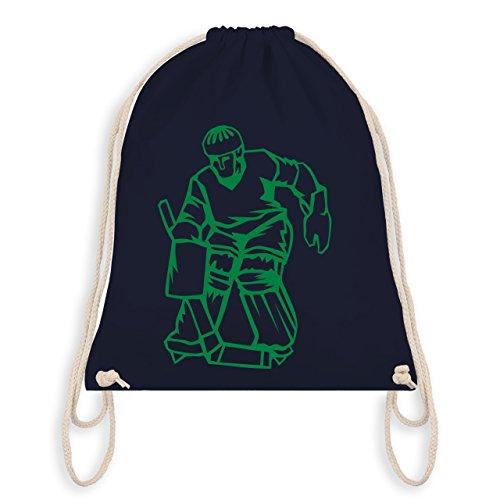 Eishockey - Eishockey - Unisize - Navy Blau - WM110 - Turnbeutel & Gym Bag