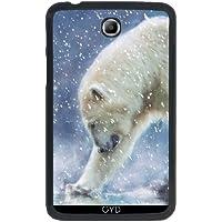 """Custodia per Samsung Galaxy Tab 3 P3200 - 7"""" - Un Orso Polare In Acqua by Gatterwe"""