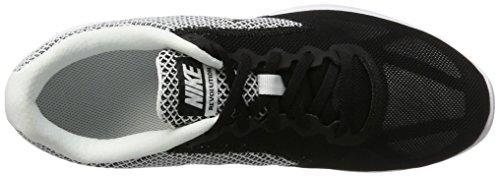 Nike Revolution 3, Scarpe Running Uomo Nero (White/black)