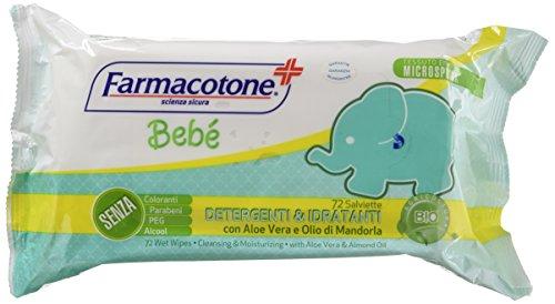 Farmacotone Salviettine Bimbi - Confezione da 72
