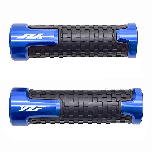 22mm 7/8\'\' Motorrad Lenkergriffe Griff Griffgummis Für Yamaha YZF R1 R3 R6 R6S R25 R125 600R Blau