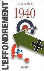 1940 : l'effondrement