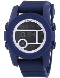 Nixon A490307-00 - Reloj digital unisex de silicona azul