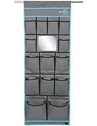 Bo-Camp organizador 14compartimento organizador de cajón, efecto espejo), color negro
