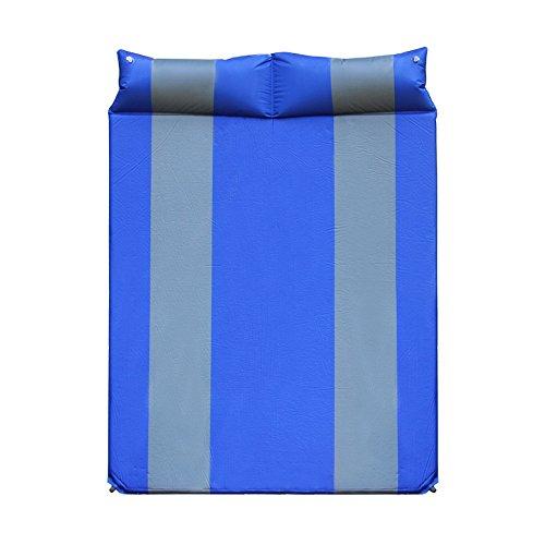 XY&CF En plein air élargi épaissie double coussin d'air automatique matelas gonflable tente de couchage tapis de camping 190 * 132 * 3.5 cm (Couleur : A)