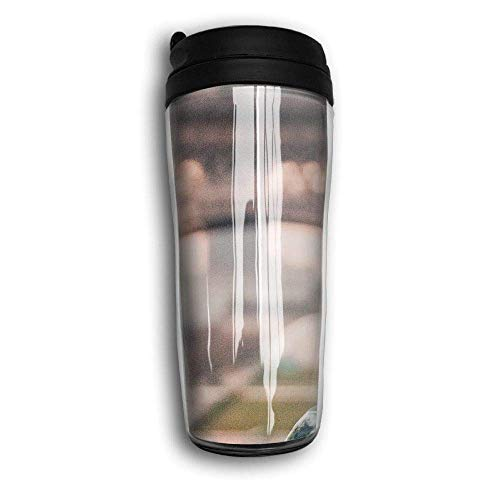Dove Eiffel Tower Travel Mug Coffee Thermos Stainless Steel Flask Water Bottle (Glas-set Tower Eiffel)