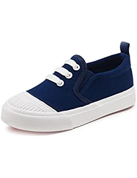 YUHUAWYH Unisexo Zapatillas Chicos Chicas Al aire libre Zapatos Lona