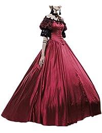 24d1eaf19786 GladiolusA Costume da Principessa Medievale Donna Vestiti Rinascimentale Abito  Vestito Eleganti Partito Costume