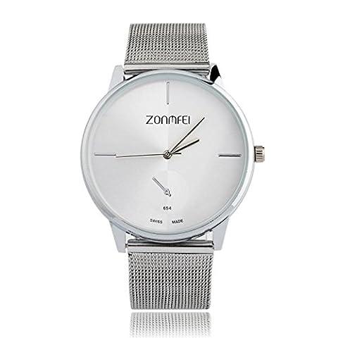 Women Watches,iHee Fashion Woman Fashion Casual Watch Silver Mesh Belt
