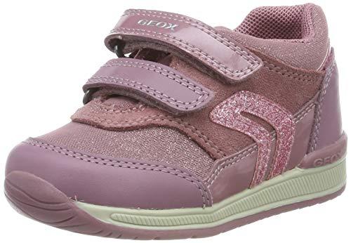 Geox B RISHON Girl A, Zapatillas para Bebés, Rosa Dk Rose C8007, 23 EU
