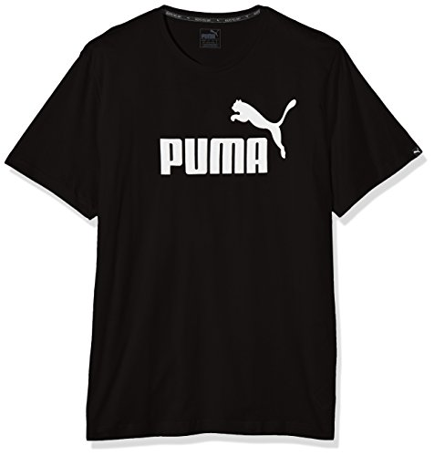 Puma Herren T-shirt ESS No.1 Tee, Black, S, 838241...