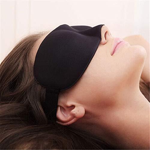FASHLADY Travel 3D-Augenmaske Schlaf es weich gepolsterte Beschattung Erholung Relax Schlaf Blindfold Auto Auto-Zubehör Motorrad-Camping