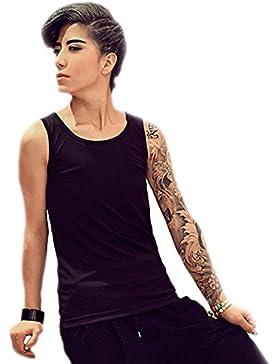 BaronHong Elástico Vendaje Chest Binder Vest Tank Top Prendas de vestir para Tomboy Lesbianas