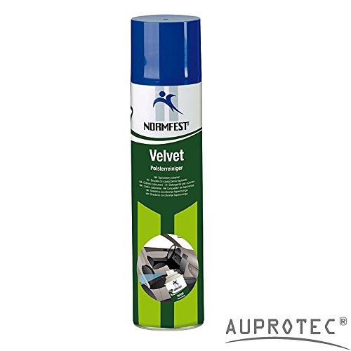 Auprotec® Normfest Polsterreiniger Velvet Auto Innenreiniger Fleckenentferner Reiniger Schaum (1 Dose) (Teppich-schaum-spray Für Auto)