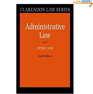 Administrative Law (Clarendon Law Series) (Paperback)