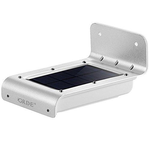 Lámpara solar con detector de movimiento GRDE
