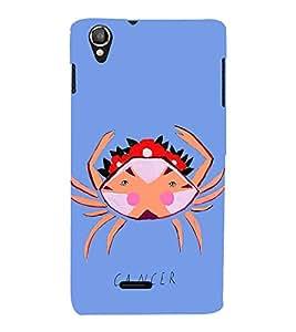 Fiobs Designer Phone Back Case Cover Lava Pixel V1 ( Cancer Zodiac Sign Luck )