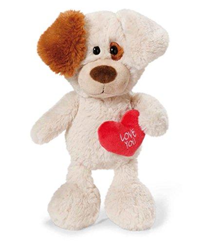 Nici 40191.0 – Hund mit Herz Love You 50 cm Schlenker