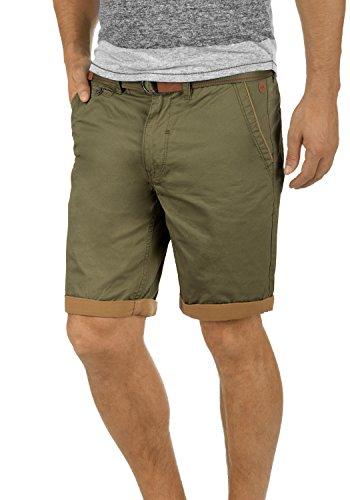 BLEND Neji 2073649ME Shorts, Größe:M;Farbe:Dusty Green - Mit Gürtel Herren Top Tank