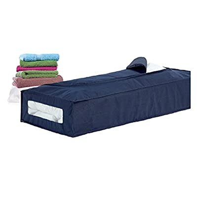 H & L Russel Underbed Chest, Marine with Blue Trim - inexpensive UK light shop.