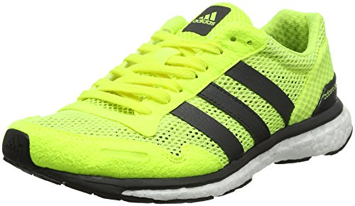adidas Adizero Adios W, Zapatillas de Running para Mujer, Amarillo (Amasol/Neguti/Ftwbla), 38 EU